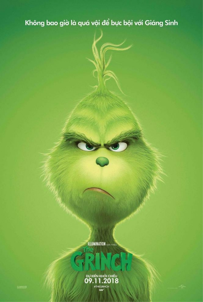 Poster The Grinch