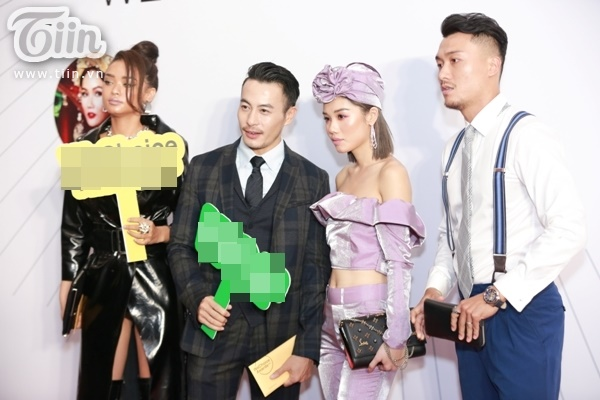 Team The Face Minh Hằng