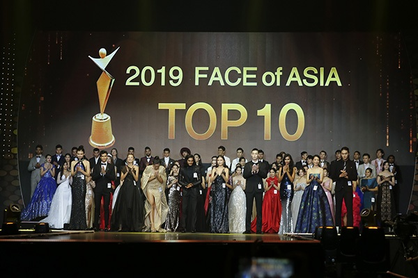Quỳnh Anh lọt Top 10 chung kết cuộc thi Face of Asia Asia 2019