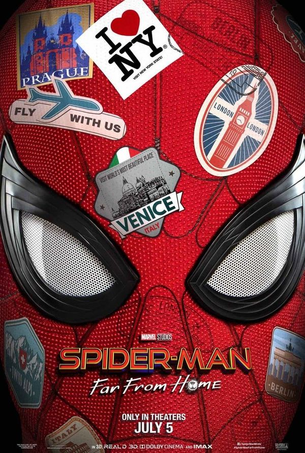 Poster Spider Man: Far From Home.